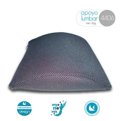 Apoyo lumbar viscoelástico para un alivio instantáneo de la espalda. Ideal para para viajes largos.